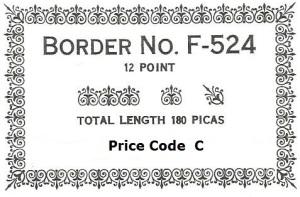 Border F-524