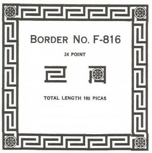 Border F-816