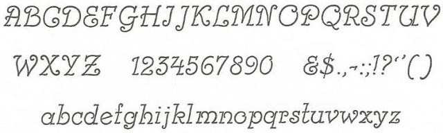 Card Italic