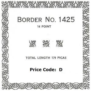 Border 1425