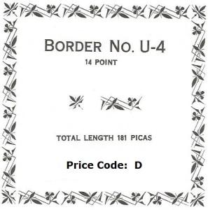 Border U-4