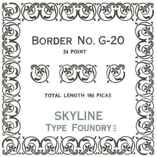 Border G-020