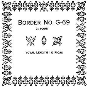 Border G-69